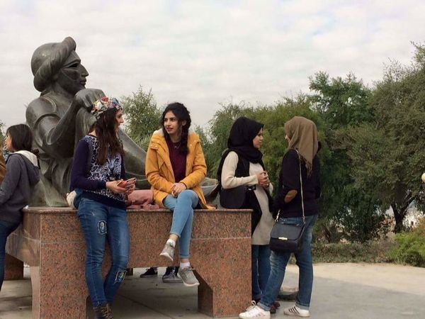 Iraq . Baghdad Shahrayar Girls Girl Power Morning Goodmorning :) Good Weather Good Weather ♥ Friendship Sky Adults Only People Girl Beautiful Day 🌞🌞🌞🌸🌺🌄 Beautiful Girls ♥ Nice View Girl Sitting Girl Talk Friendship Outdoors Girls Day Out :-)  Females Sexygirl Nice Hair