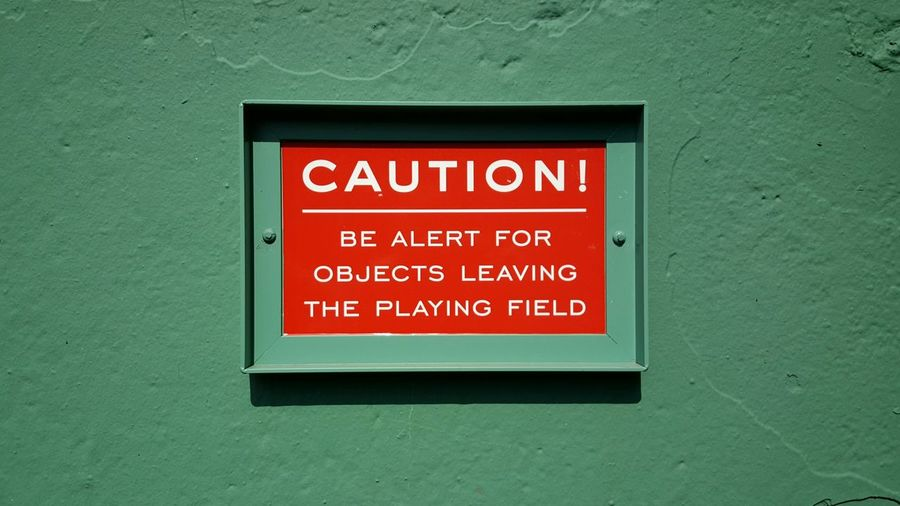 Warning Sign The Purist (no Edit, No Filter) Fenway Park Red Sox Nation Canvas Alley Baseball ⚾ Minimalism EyeEm Best Shots Boston, Massachusetts The Color Of Sport