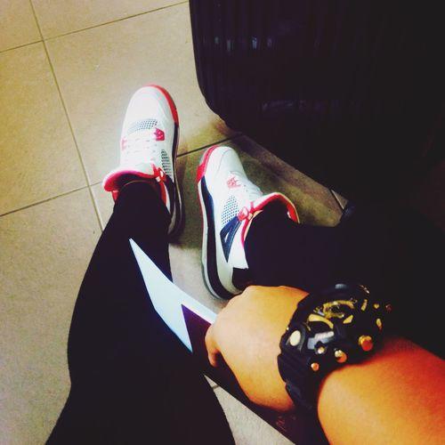 Love Traveling Jordans