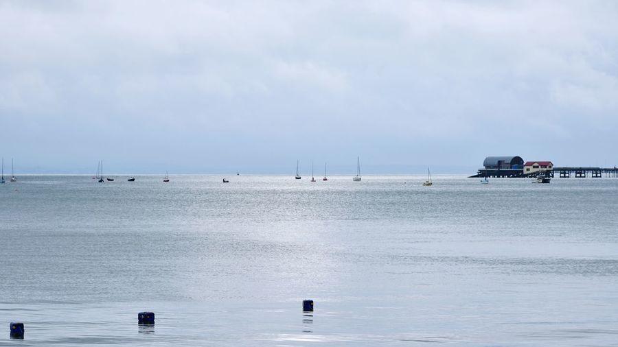 Taking Photos Mumbles Pier Boats Nikon D5500