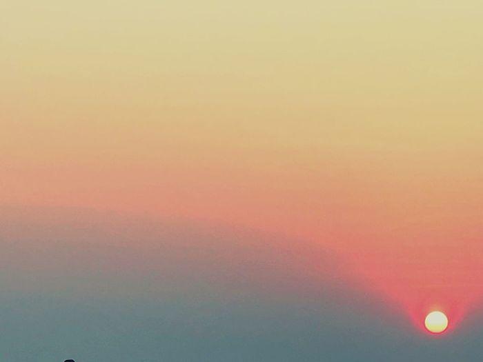 Sunset on Baga