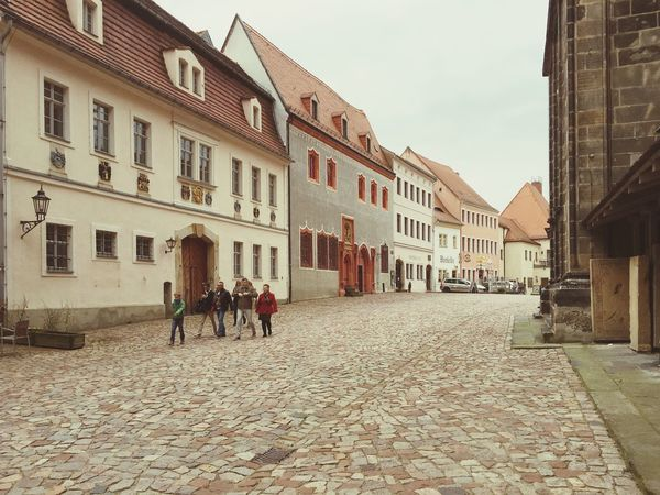Historic Historical Building Architecture Church Old Buildings Old Town Stones Soft Light Idyllic Scenery Idyllic City Pavement People Walking  Heritage Building Heritage Site Scenic People Walking  Cityscapes