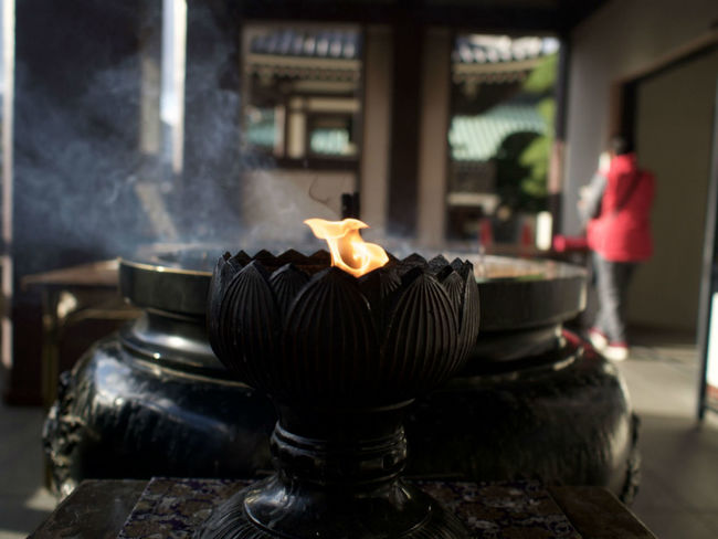 Incense burning, Japanese Temple, Fukuoka ASIA Asian  City Fukuoka,Japan Fukuoka-shi Insence Stick Japan Japan Photography Japanese  Spirituality Travel Travel Photography Close-up Fire Flower Fukuoka Indoors  Insense No People Religion Religious  Spirituality Beliefs Travel Destination Travel Destinations