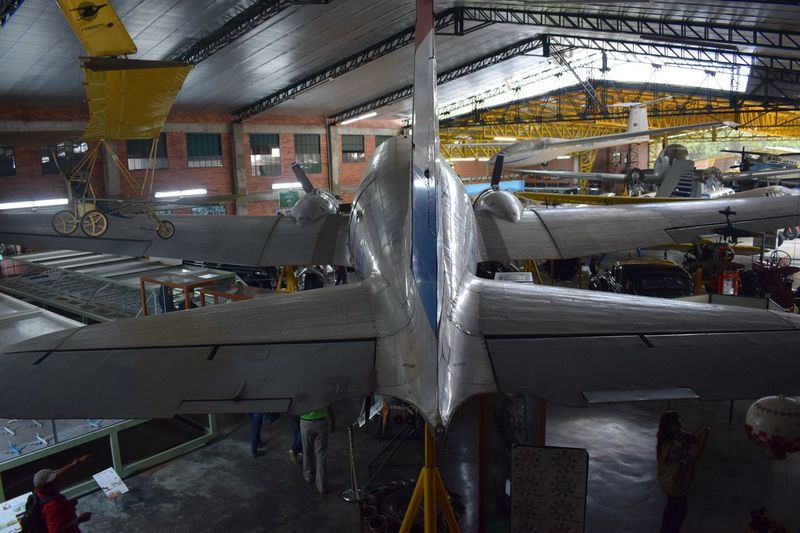 DC-3 tail Business Finance And Industry Indoors  Industry Factory No People Manufacturing Equipment Day