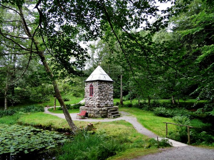 Architecture Beauty In Nature Building Exterior Built Structure Day Garden Photography Gardens Grass Green Color Hardanger Hordaland Nature Norway Outdoors Parks Parkscapes Rosendal Sky Tranquility Travel Destinations Tree