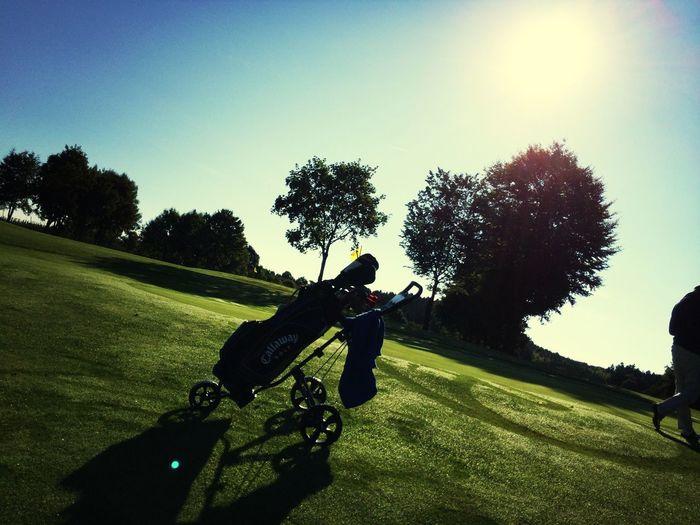 Golf Enjoying The Sun Sunrise
