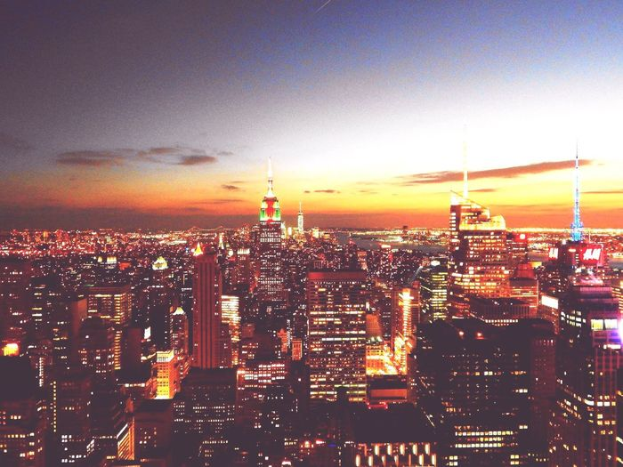 New York New York ❤ New York, New York New York City New York Skyline  City Life City Sunset Sunset_collection