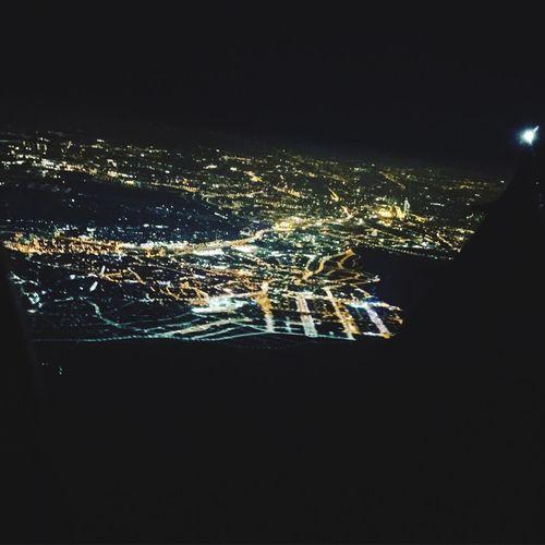 Nightphotography Night Lights Illuminated Britishairways Madrid