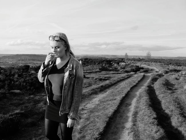 Girl Power Showcase June Walking Walking Around Female Female Portraits Portrait Black And White Black & White Monochrome Hills Hillside Landscape_Collection Landscape_photography Landscapes Yorkshire Norland Moor Moor  Moors Path Pathway Outdoor Photography Outdoors Sowerby Bridge Calderdale