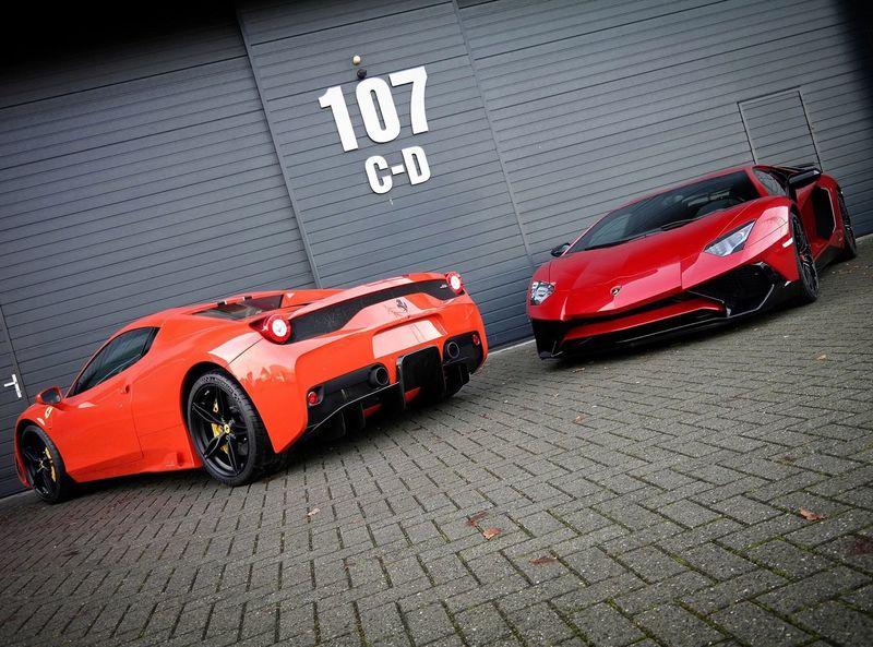 Love my job :) Love Lamborghini Ferrari Working Beautiful