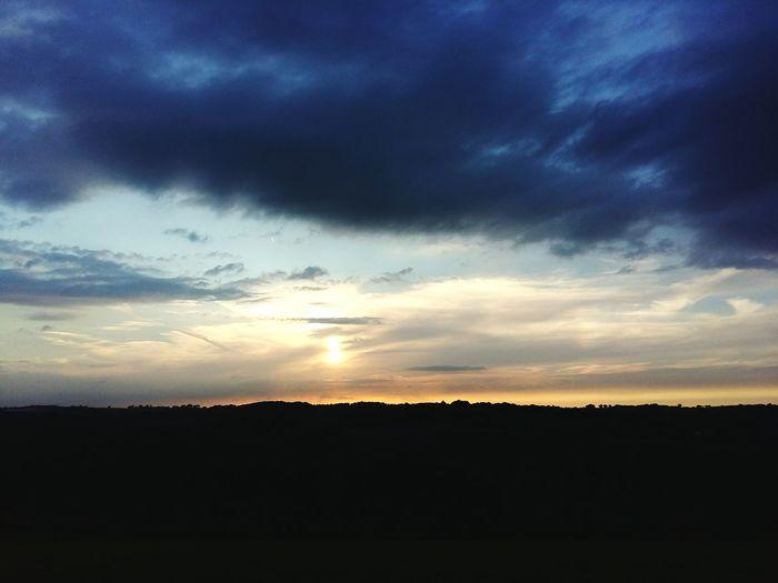 Sunset View Sunset Netherlands Gulpen