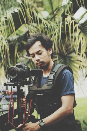 That's Me Hello World Glidecam Videographer Photographer Working Shooting Shahalam Malaysia Equipment