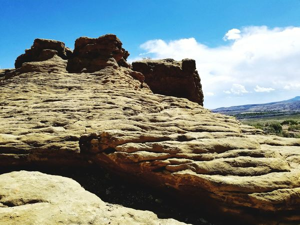 Mountain Rock - Object Blue Sky Landscape Geology Physical Geography Rock Formation Rugged Arid Climate Eroded