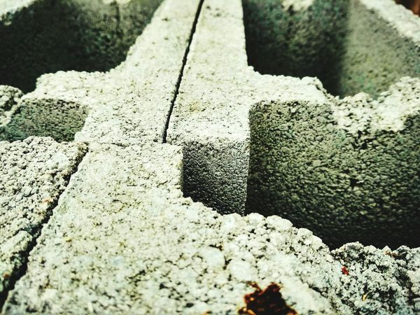 Day No People Outdoors High Angle View Textured  Close-up Construction Site Concrete Block Concrete Blocks Beton