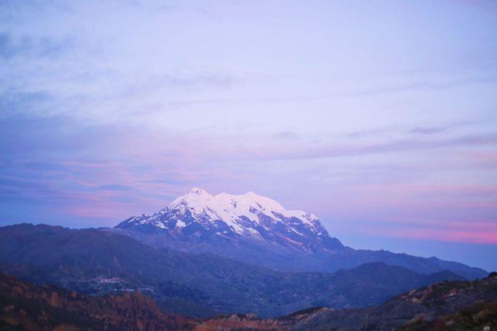 Mountain Beauty In Nature La Paz, Bolivia Illimani First Eyeem Photo