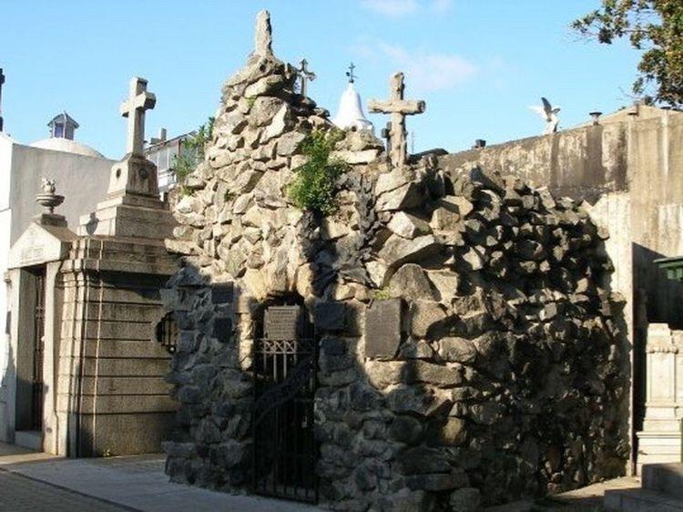 Buenos Aires Argentina Recoleta Cemetery Architecture Rock