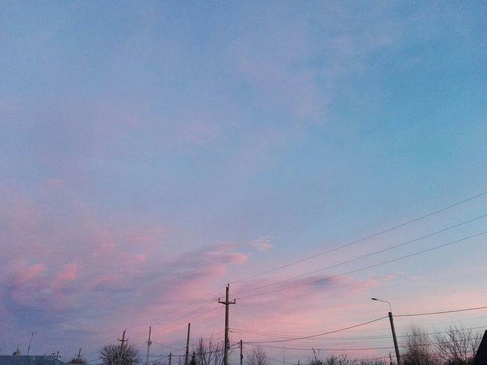 Nature No People Outdoors Sunset Sky Pink Clouds @WOLFZUACHiV Eyeem Market Showcase: 2017 On Market Showcase: February Beautiful Sky Ionitaveronica Edited By @wolfzuachis Ionita Romantic Sky Wolfzuachiv Veronicaionita Huaweiphotography Romania EyeEmNewHere Cloud - Sky Skyscape Millennial Pink