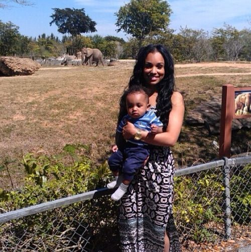 Me And My Baby Boy At The Zoo