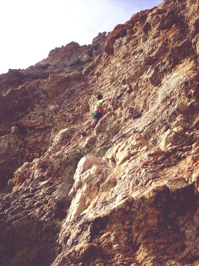 This is life! At Natures Valley, Western Cape. Enjoying Life Rock Climbing No Risk, No Fun EyeEm Best Shots