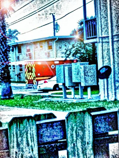 Hows Your Morning?? Close To Home Under Pressure Taking Photos Ambulance Firetruck First Aid The View From My Window Cape Canaveral