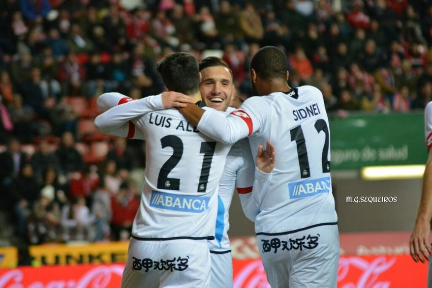 RSG vs RCD (6/2/2016) Gijón Coruña Deportivo
