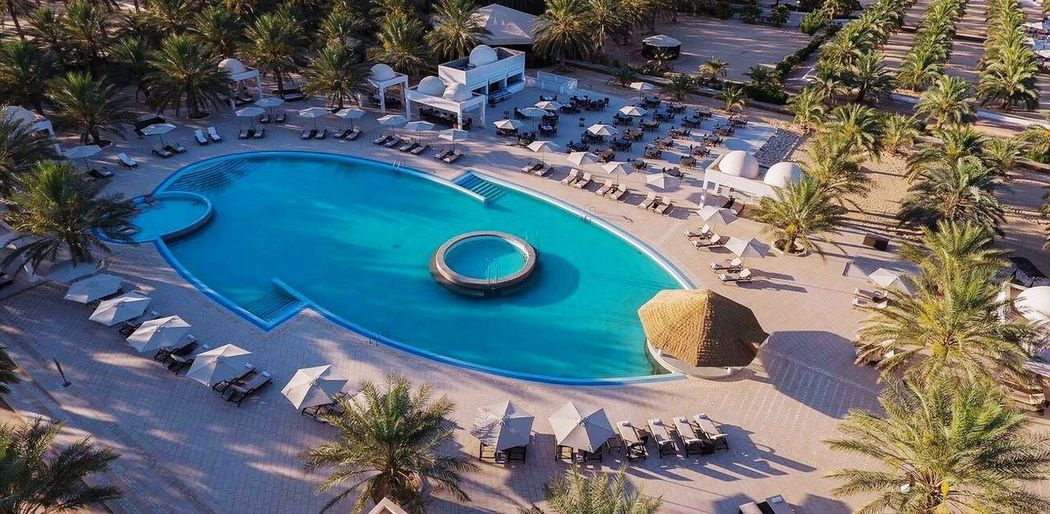 Hotel la Gazelle D'or Oued Souf-Algerie Palm Tree High Angle View Swimming Pool Day Outdoors Tree Tourist Resort Vacations Travel Destinations Architecture Luxury Hotel No People Water Algeria Sahara Gazelle D'or Oued Souf Sahara Of Algeria Architecture Relaxation Blue Vacations Hotel EyeEm Algeria Photography