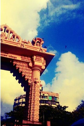 Monuments World Through My Eyes Nikongirl Clouds And Sky Blue Sky Indian Culture