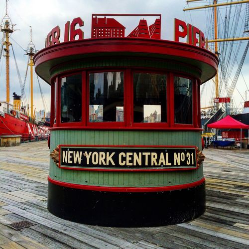 Cloudy day on the pier. NYC NYC Photography Manhattan Pier