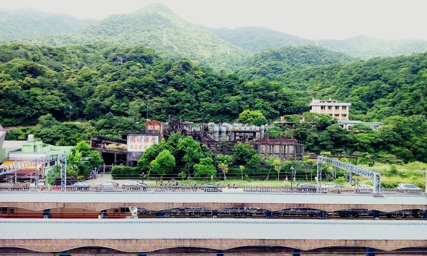 The Great Outdoors - 2015 EyeEm Awards Houtong Trainstation Railway Montains    Coalmine