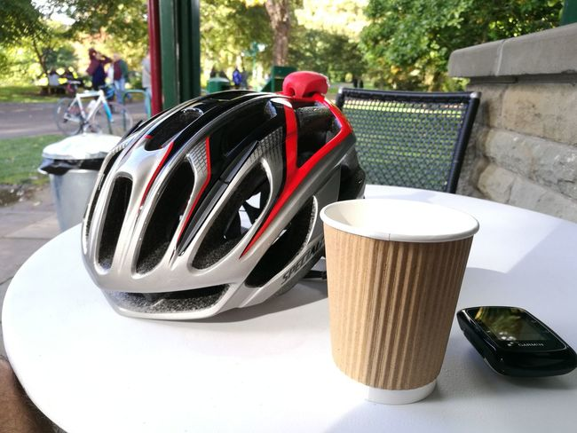 Outdoors Refreshment Drink Day No People Cycle Stop Coffee Time Coffee Break