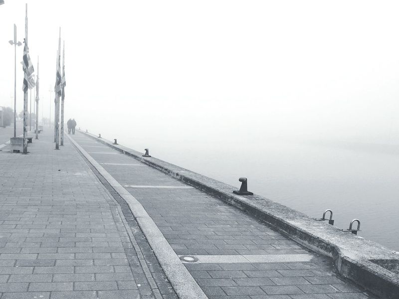 Porto Garibaldi's dock