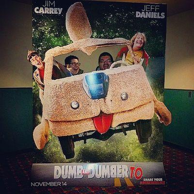 Yup, I was a passenger! Dumbanddumberto Movies Funtimes Sneakpeak jimcarey jeffdaniels dumbselfie