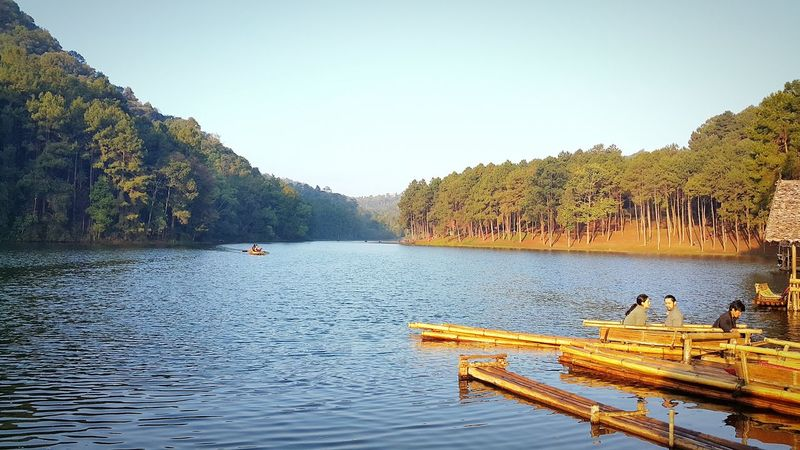 Pang Oung Romantic Place Lake