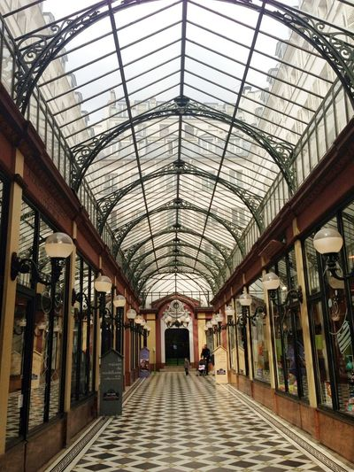 Architecture Built Structure Skylight Cupola Architectural Feature Architectural Design Arcade Architectural Column Colonnade Architectural Detail Architecture And Art Directly Below Interior Archway Passageway Arch Diminishing Perspective vanishing point The Way Forward Historic