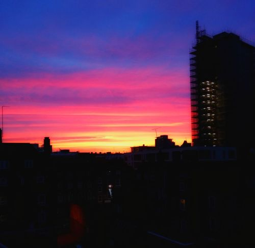 City Sunrise Sunrise_sunsets_aroundworld Sunrise - Dawn City Of London London The View From My Window Blood Sun Blood Sky Bloody Sun