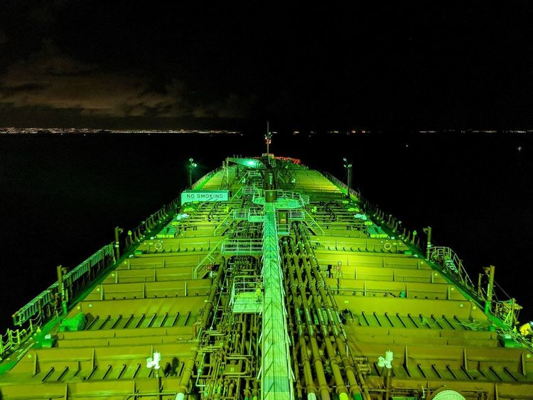 Nautical Theme Nautical Vessel Cargo Ship Life Onboard Nightphotography Long Exposure Work Of Art Astronomy Illuminated Innovation Technology Mother Board Space Pattern Green Color