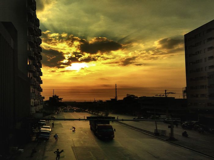 City Sunset Hot Day Mobile Global Shooters Mobile Photography Sunset Cloud - Sky Outdoors Kulotitayclicks Eyeem Philippines Philippines
