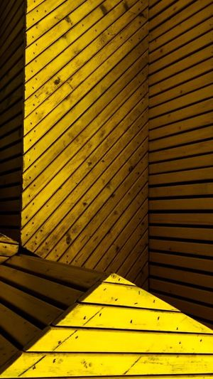 Yellow Bench Yellow Abstract