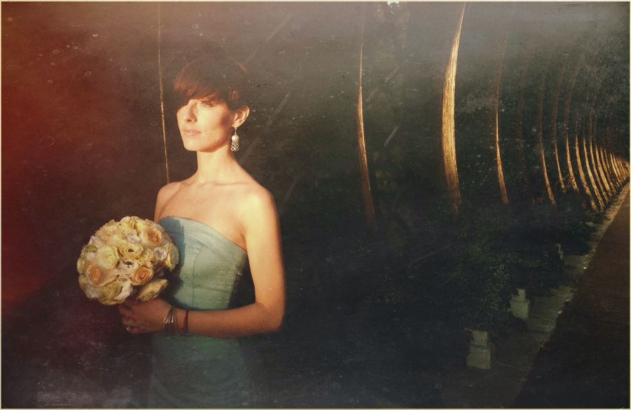 Bride Flower Girl