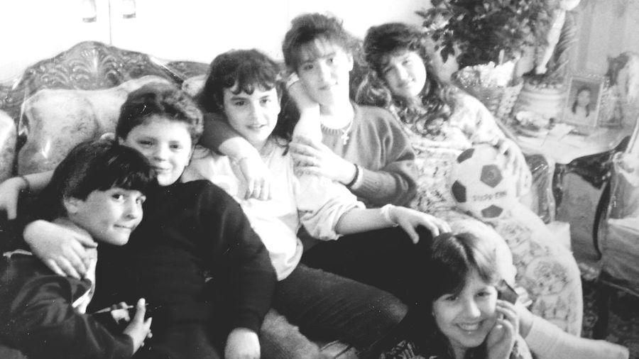 Cousins♥ Black And White Family❤ The 80's Nostalgia Athens, Greece 1989
