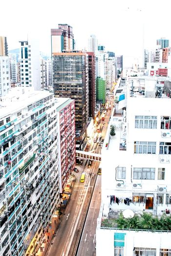 HongKong Street City Life Skyscraper High Angle View Cityscape Road Travel Destinations Illuminated Vscocam Journey VSCO Documentary Eye4photography  Urban Travel Photography Colours EyeEm Best Shots Check This Out Redstartravel