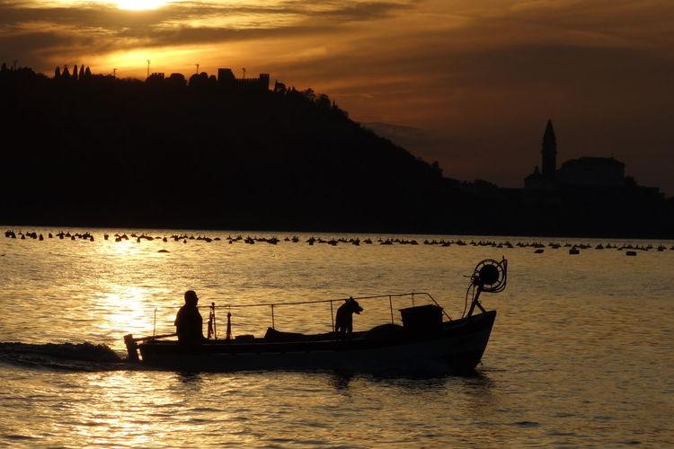 Fisherman in