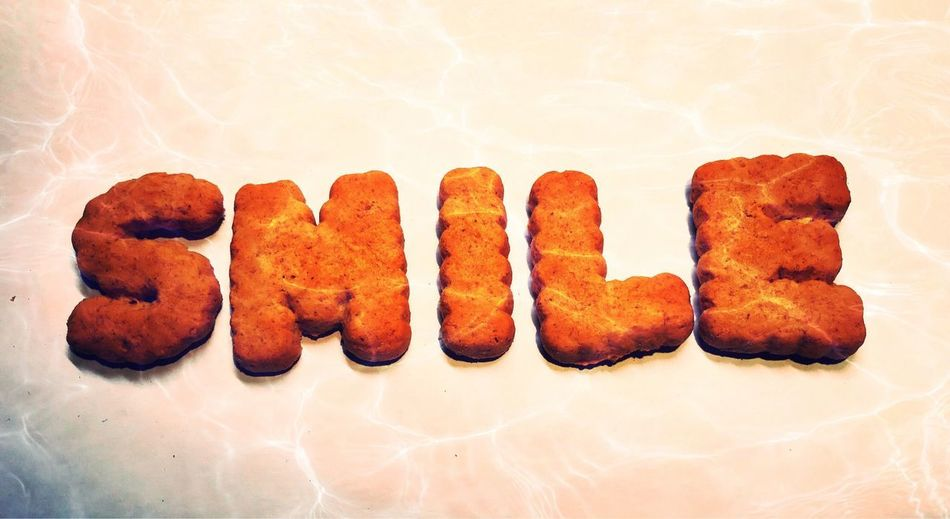 Smile 😊 Ipad Pro Morten Müller-Schnelle Cookies Smile❤ Smile :) Smile ✌ Smile Freshness Food Indoors  Still Life Food And Drink No People Close-up Unhealthy Eating Ready-to-eat Snack Baked