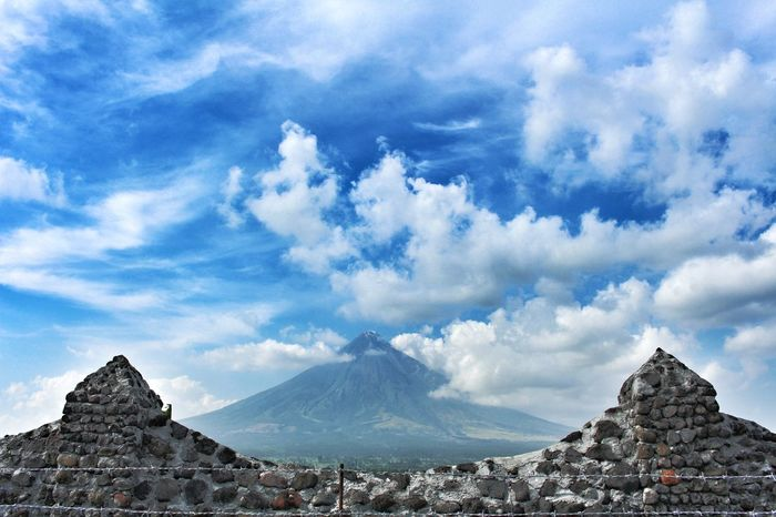 Perfect cone Mountain Cloud - Sky Sky Outdoors Landscape Travel Destinations Nature Adventure Beauty In Nature Rock - Object No People Sunlight EyeEm Best Shots Mayon Volcano Albay Mayon Volcano Philippines Mayon Volcano Daraga, Albay Philippines Mayon View MayonVolcano😍🌋 Mayon Wonder Albay, Philippines Philippines ❤️ EyeEmPh! EyeEmBestPics EyeemPhilippines
