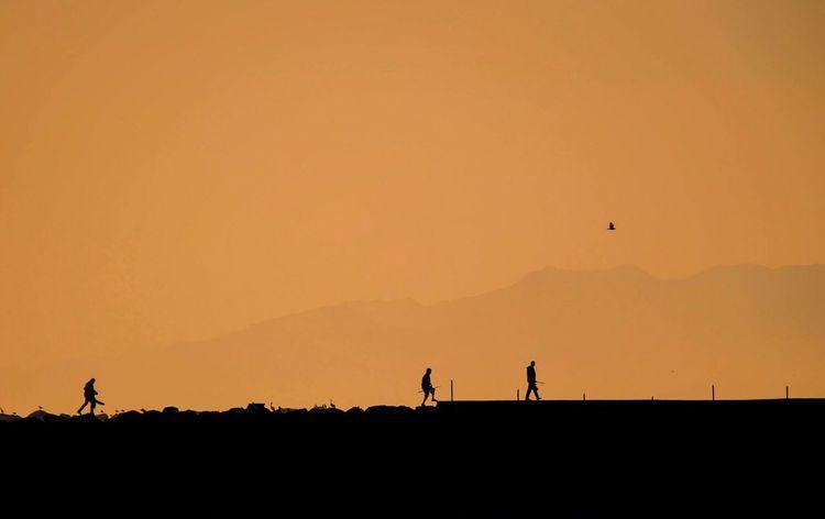 The KIOMI Collection Sunset Orange Walking Rocks California The Essence Of Summer Feel The Journey Original Experiences