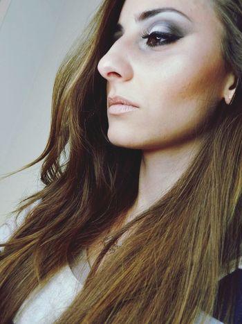 Make-up on a beautiful Blonde Girl 👸 Makeupartist Beautifuljob Beauty Job Makeupaddict Model Shooting Photos