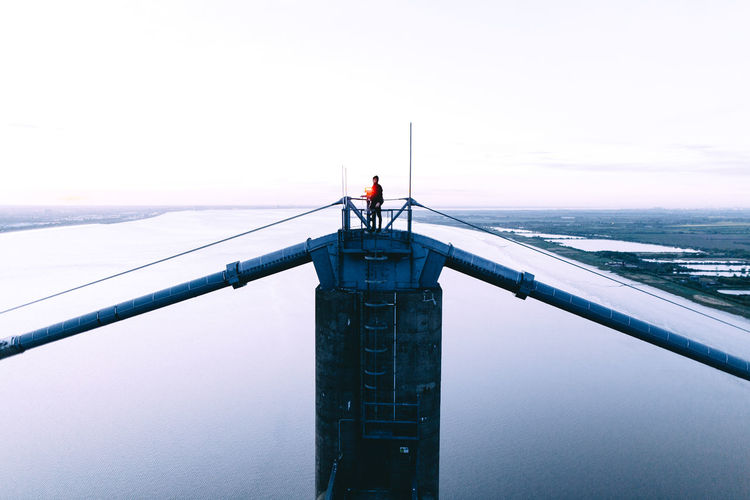 PART I & II City Climb Composition Exploring EyeEm EyeEm Best Shots Fun Lines Sky And Clouds The Great Outdoors - 2018 EyeEm Awards The Traveler - 2018 EyeEm Awards Urban Exploration Adventure Architecture Explore Landscape Lifestyles Nature One Person People Real People River Sky Standing Sunsrise