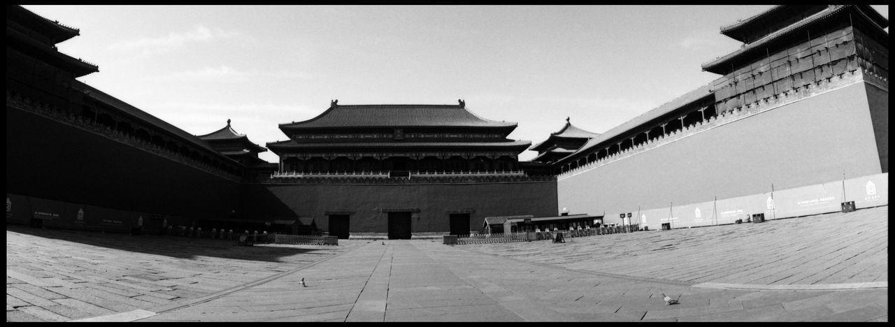 The Urbanity of Beijing ASIA Analogue Photography Beijing Beijing View CCTV Broadcasting Building China TV City Panoramic Black And White China Concrete Contrast Metropolis No People Urban