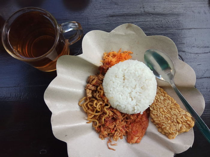 EyeEm SelectsBreakfast in Banyuwangi. Table High Angle View Food And Drink Serving Size No People Ready-to-eat
