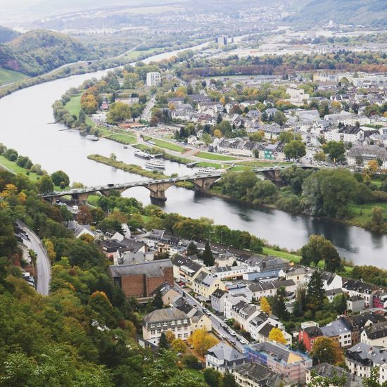 Trier Cityscape Stadtansichten Trier City Trier, Germany's Oldest City Trier Stadt Architecture Built Structure Building Exterior Tree Plant High Angle View City Water River Nature Building Day Residential District No People Cityscape Transportation Outdoors Growth TOWNSCAPE